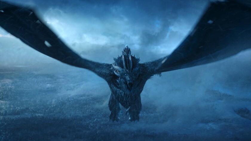 """Vladimir Furdik as the Night King in the season 7 finale of """"Game of Thrones."""""""