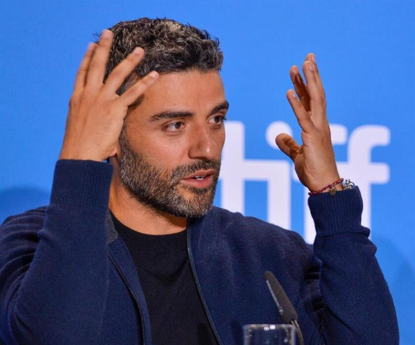 El actor guatemalteco y estadounidense, Óscar Isaac. EFE/Archivo