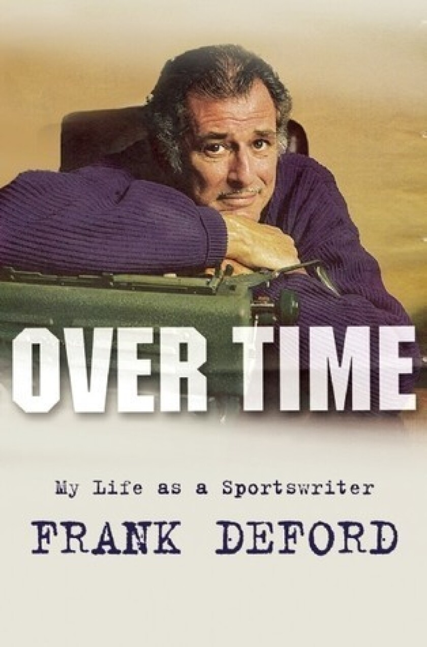 Book review: Frank Deford goes deep, as usual