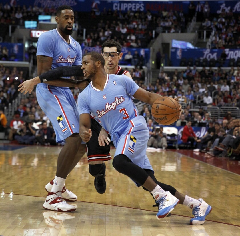 Clippers' Chris Paul listed as game-time decision with injury