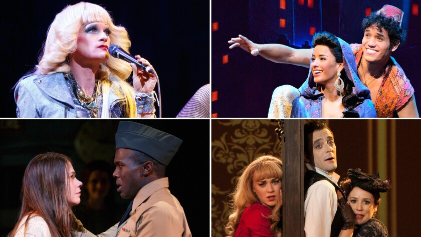 Click through to see the top nominees and winners of this year's Tony Awards, and which accolades each production vied for.