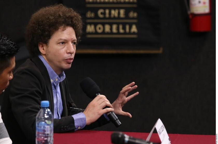 """Michel Franco, director de la cinta 'Nuevo Orden""""."""