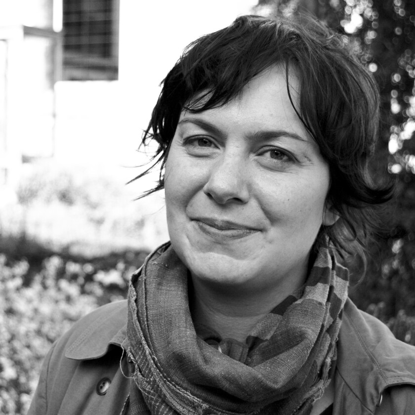 """An author photo of Tiffany Watt Smith for her book """"Schadenfreude: The Joy of Another's Misfortune."""""""