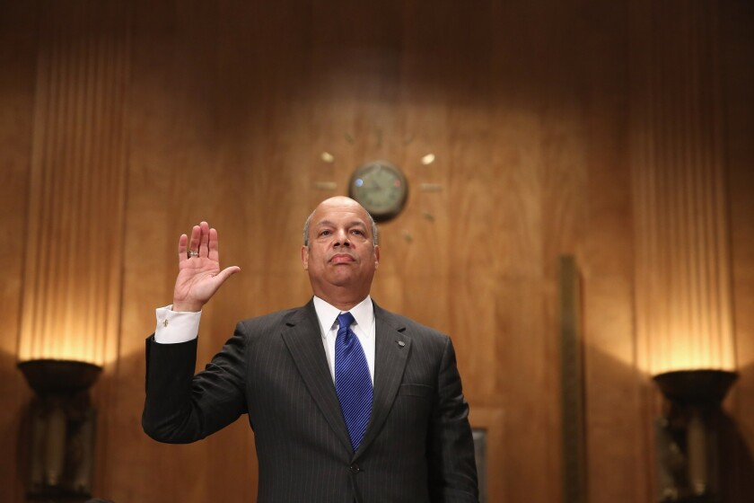 Obama's Homeland Security nominee easily advances to full Senate