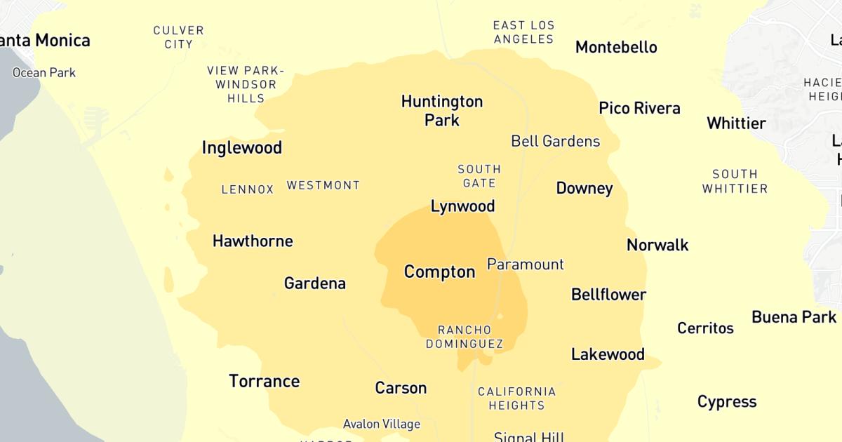 大震災3.7震rattlesロサンゼルス地域を中心としたコンプトン