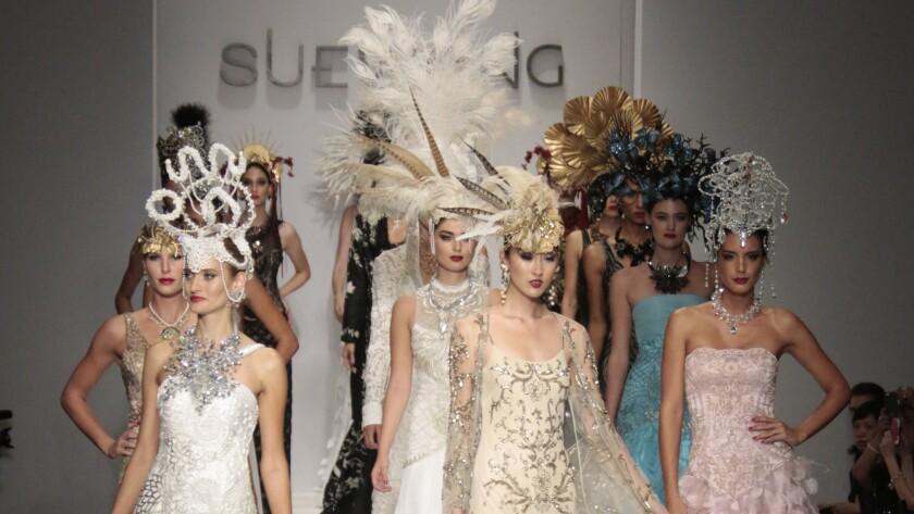 Sue Wong runway show