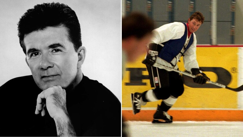"""Alan Thicke was buddies with """"The Great One,"""" Wayne Gretzky."""