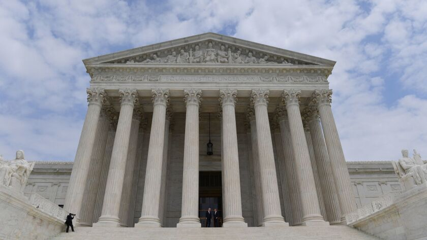 The Supreme Court of the United States. MUST CREDIT: Washington Post photo by Ricky Carioti. ** Usab