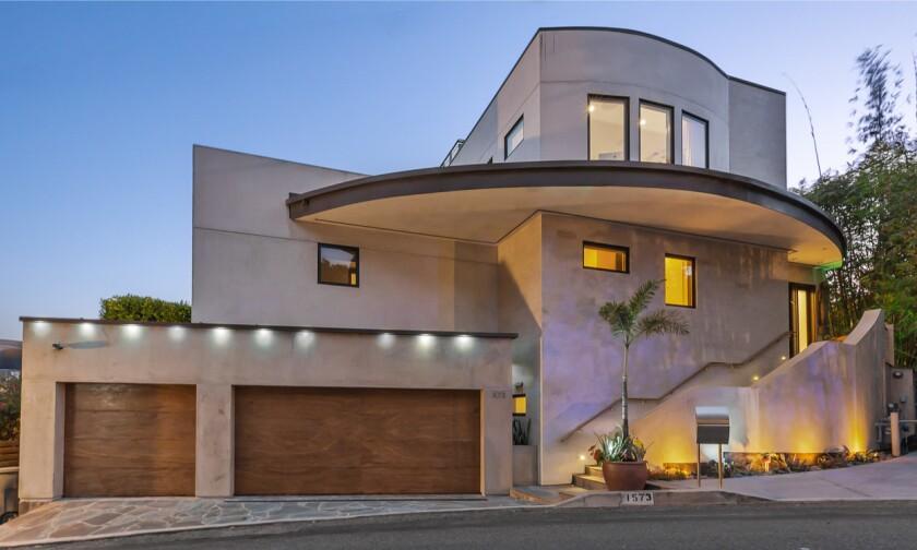 Jeff Jampol's Hollywood Hills home