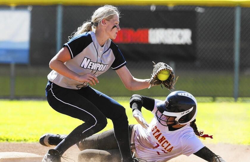 High School Softball: Sailors edge Eagles, 10-9