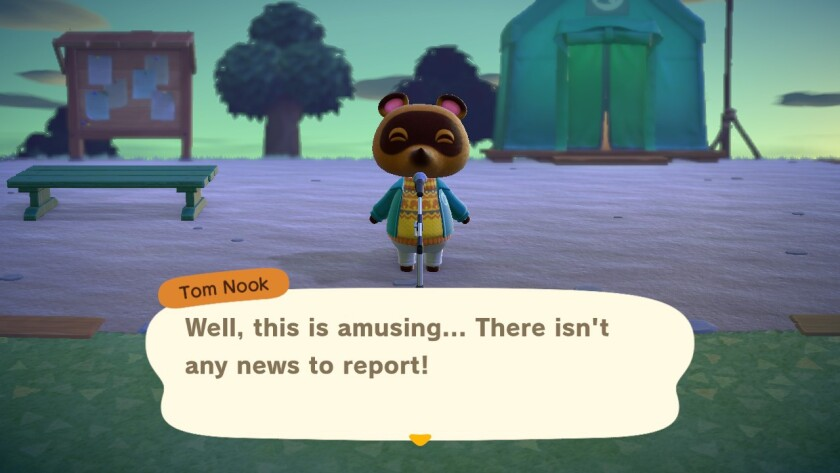 """Life in """"Animal Crossing: New Horizons"""" presents itself as a welcome break from reality."""
