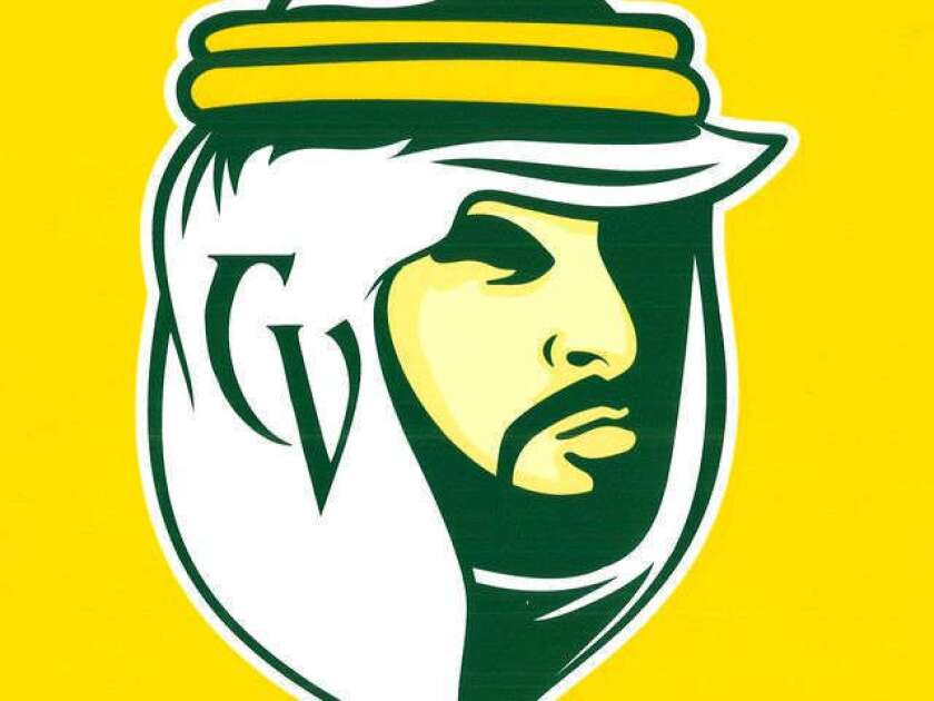 """This proposed mascot logo for the Coachella Valley High School """"Arab"""" has been approved by the American Arab Anti-Discrimination Committee. It may replace an image that some Arab Americans found offensive."""