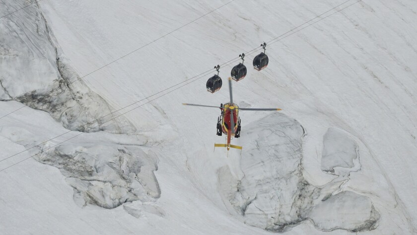 45 People Stuck Overnight In Cable Cars At Mont Blanc In