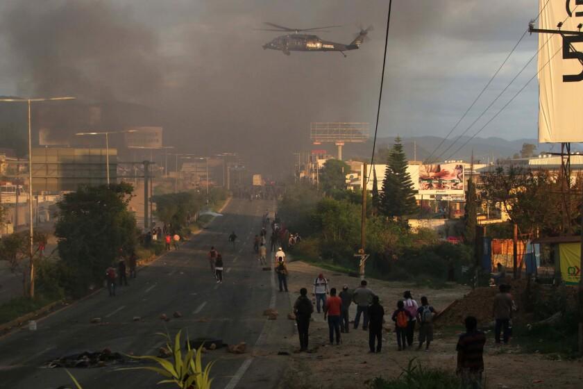 Unrest in Nochixtlan