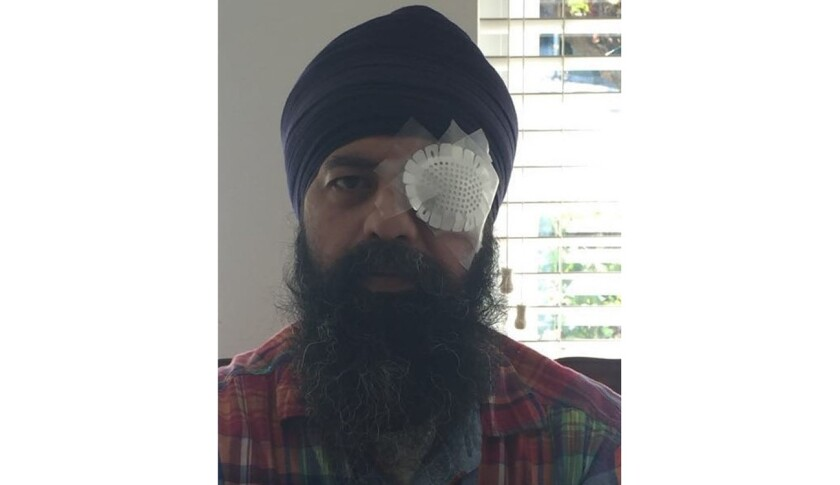 Maan Singh Khalsa was attacked, beaten and his hair was cut off in Richmond, Calif., officials said.