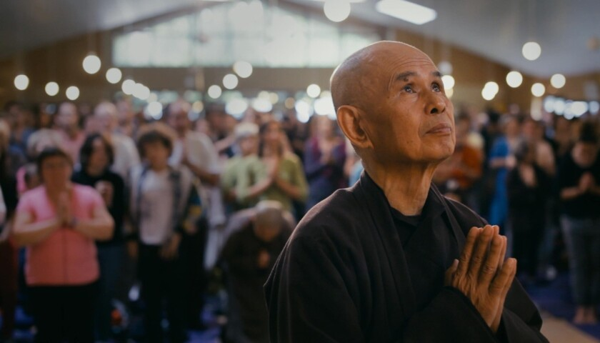 "The new movie ""Walk With Me"" takes a peek into the life of beloved Zen monk Thich Nhát Hanh."