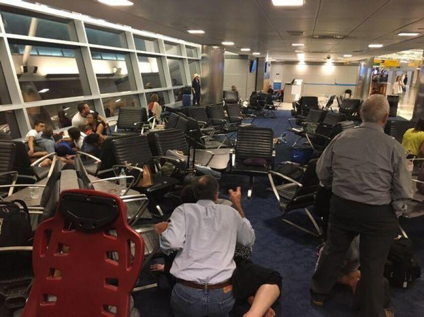 El pánico imperó en las terminales de aeropuerto JFK que hoy retoman a su actividad normal tras la alerta de posibles disparos.
