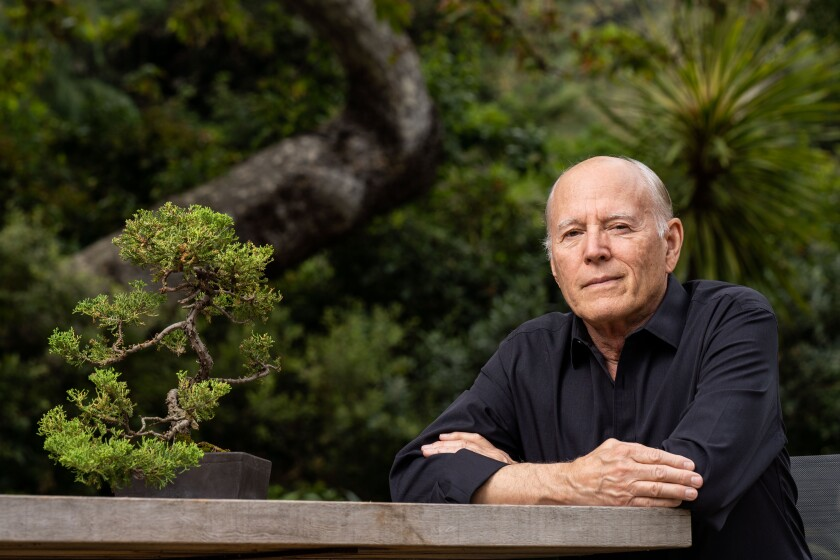 Director and producer Frank Marshall at home in Brentwood.