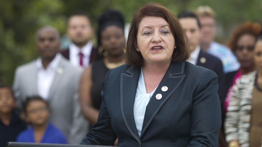 State Senator Toni Atkins, D-San Diego, authored the new law to establish a new statewide housing trust fund.