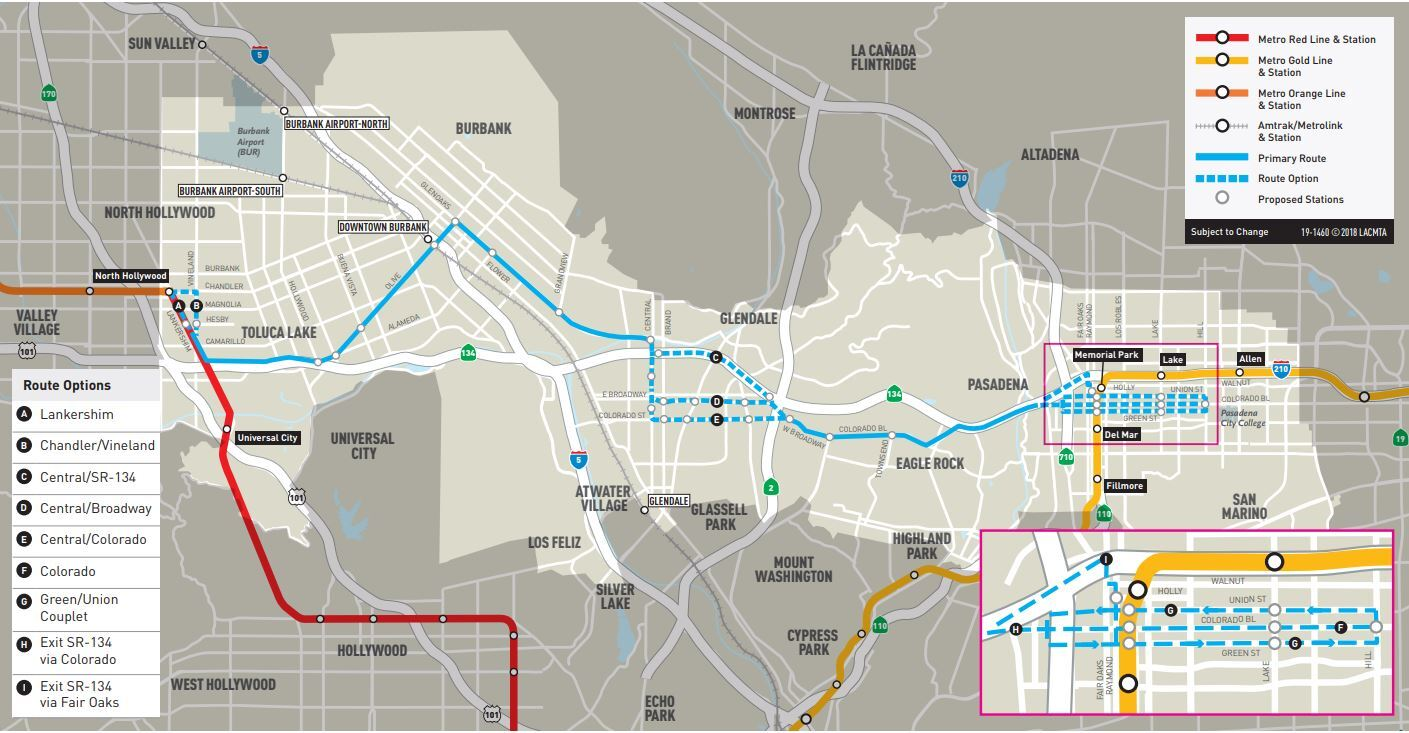 Burbank submits comments on proposed Metro bus rapid transit project
