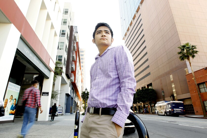 Anthony Ng, 25, a policy advocate for immigrant rights at Asian Americans Advancing Justice, was in high school when he realized he didn't have permission to live in the United States.