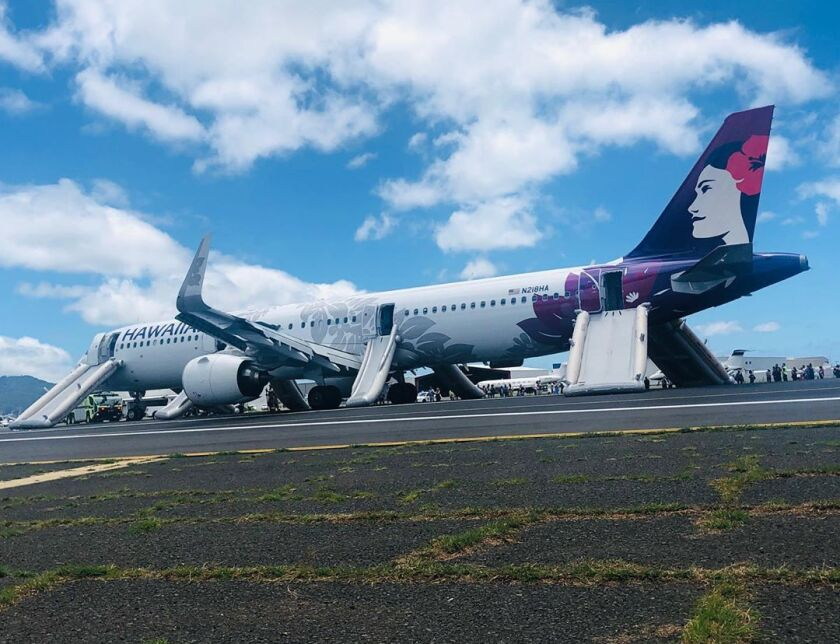 A Hawaiian Airlines flight made an emergency landing in Honolulu in August 2019 after smoke filled the cabin.