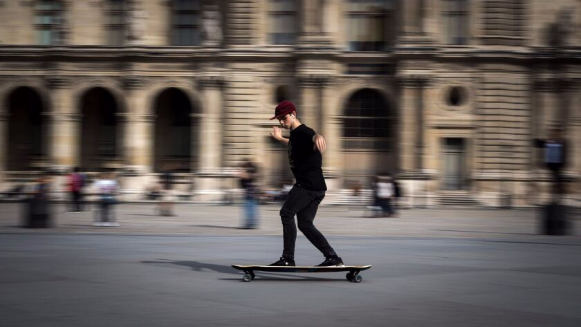 Airfare to Paris has dropped to $497 on Air Tahiti Nui, enabling travelers to visit the Louvre for less and on a skateboard if they wish.