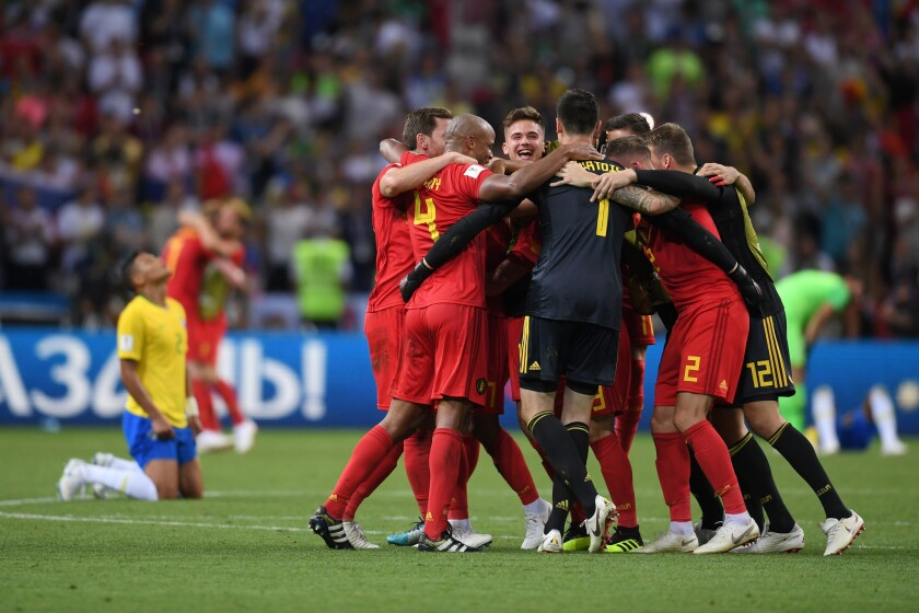 Brazil v Belgium: Quarter Final - 2018 FIFA World Cup Russia