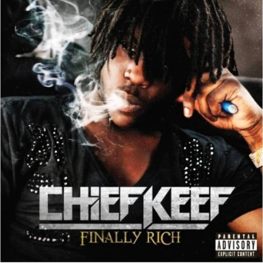 """Chief Keef's latest album is """"Finally Rich."""""""