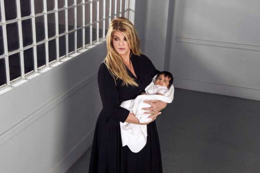 "Kirstie Alley in ""Baby Sellers"" on Lifetime"