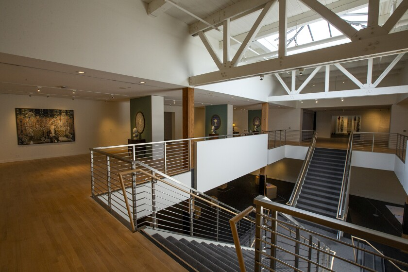 The Orange County Museum of Art reopened to the public mid-September.