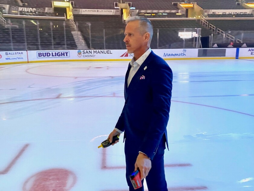 Kings' playing surface is notoriously unruly. The 'ice guru' is here to fix that