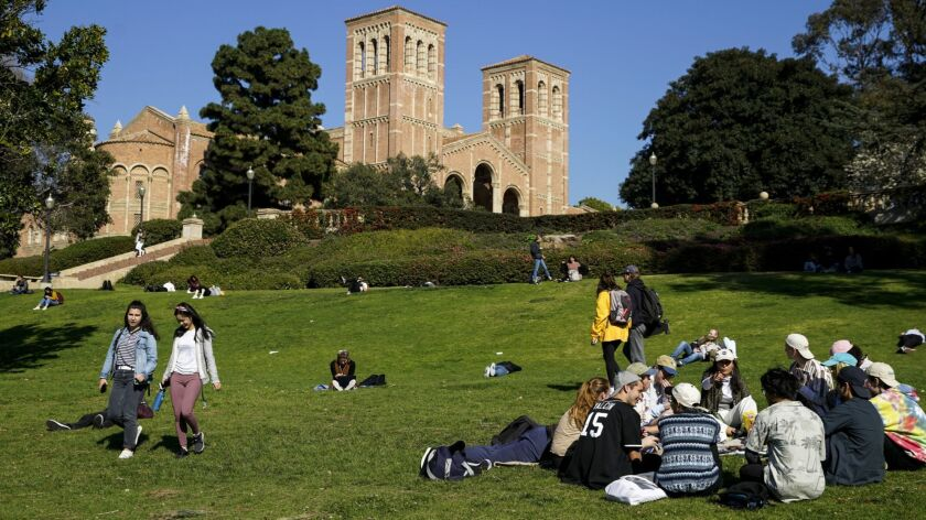 LOS ANGLES, CALIF. - FEBRUARY 08: Scenes of the University of California, Los Angeles campus in West