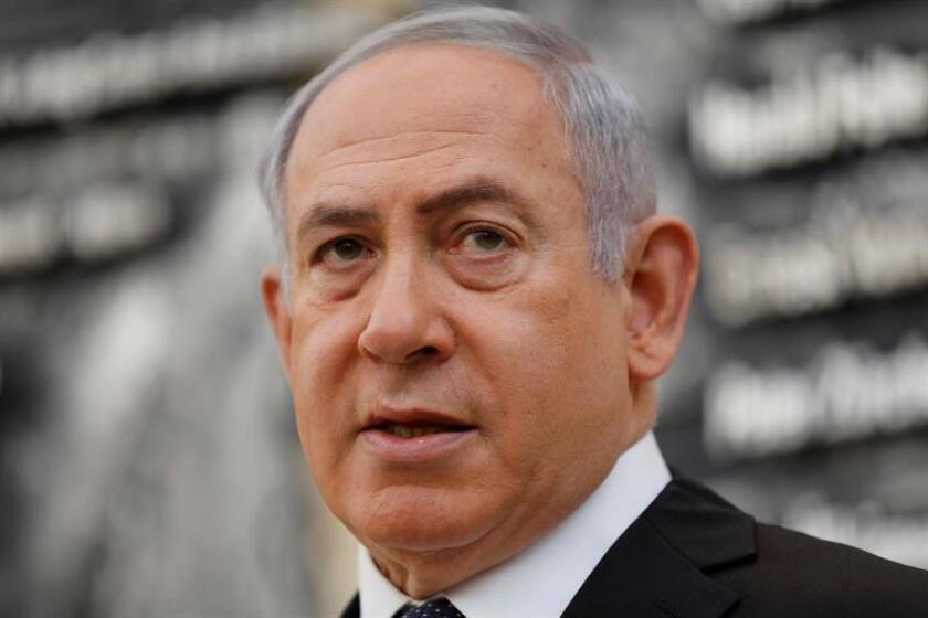 """Estados Unidos considera un """"asunto interno"""" de Israel la recomendación de la Policía de ese país a la Fiscalía para que impute por soborno, fraude y abuso de confianza en dos casos de corrupción al primer ministro, Benjamin Netanyahu. EFE/ARCHIVO"""