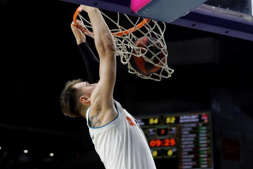 Luka Doncic, escolta de los Mavericks de Dallas. EFE/Archivo