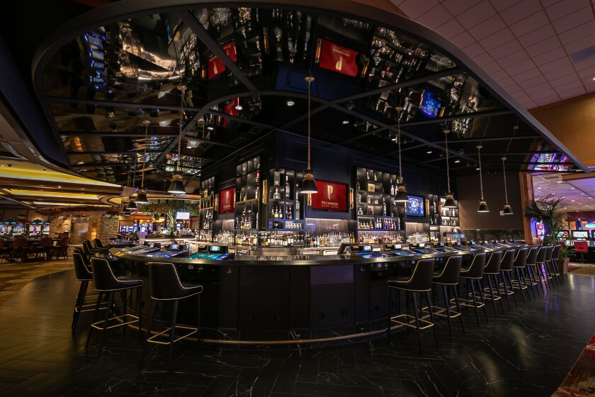 Pechanga Resort & Casino's new bar features specialty cocktails from the resort's mixologist.