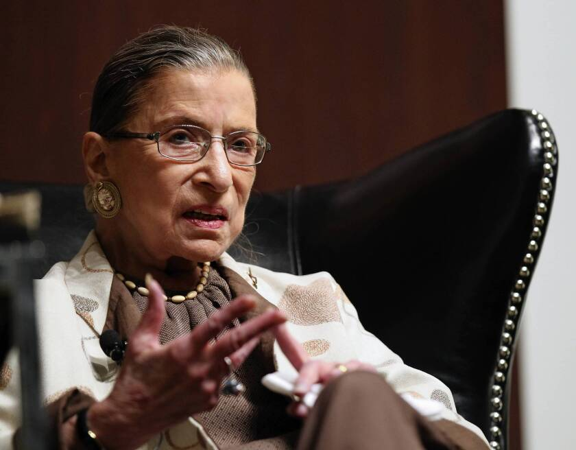 """Justice Ruth Bader Ginsburg wrote that a prisoner filing a federal appeal after the one-year limit must have new evidence strong enough to persuade a judge that """"no juror, acting reasonably, would have voted to find him guilty"""" at his trial had the jury known of it."""