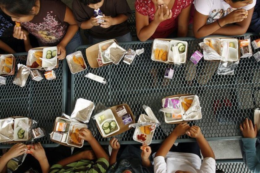 New Mexico has highest rates of childhood hunger, study says