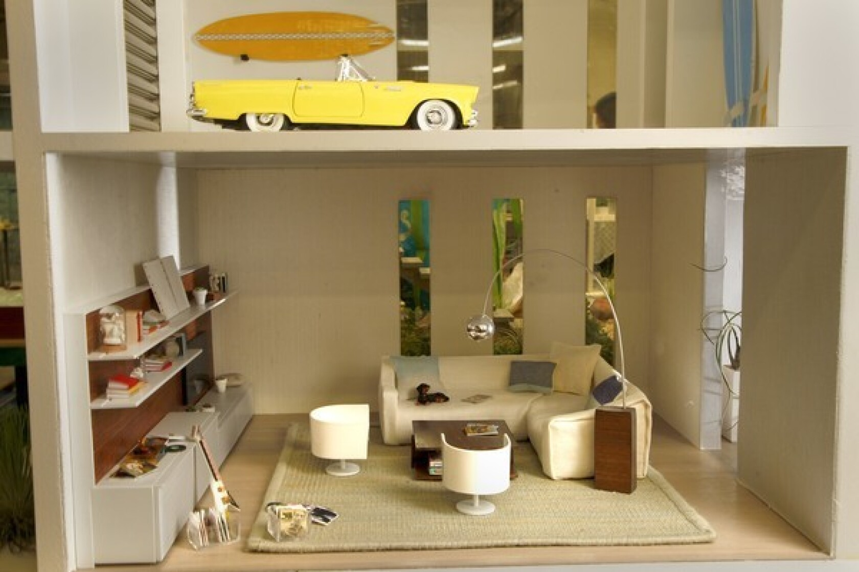 Designer Dollhouses Offer Miniature Life Of Luxury Los Angeles Times