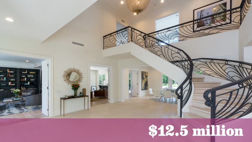 Moulay Souleimane Cherkaoui, a member of the royal family of Morocco, sold his renovated Mediterranean-style home in Beverly Hills for $12.5 million.