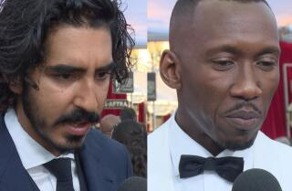 Mahershala Ali and Dev Patel react to current political climate