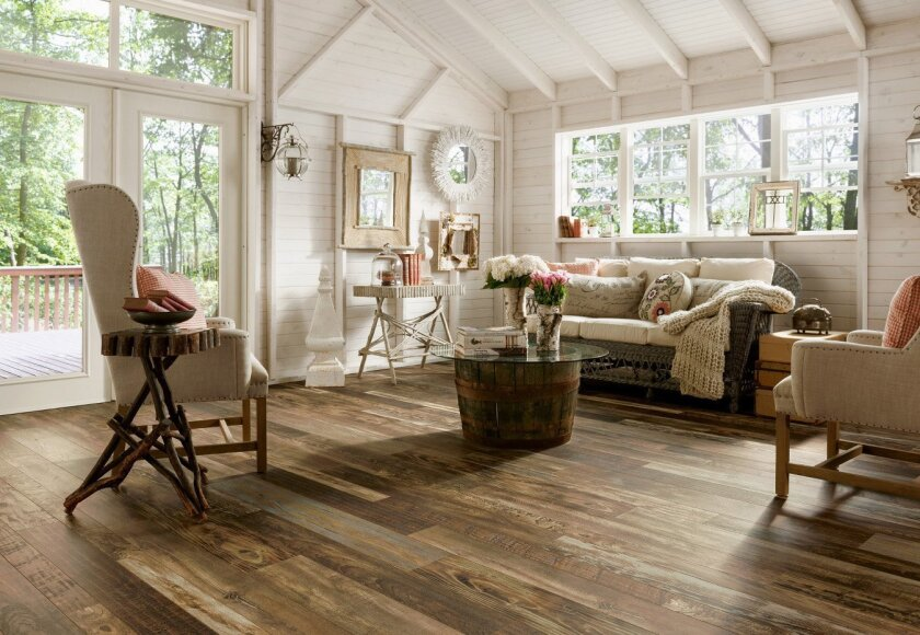 Increasingly-attractive laminates are a more affordable wood alternative.