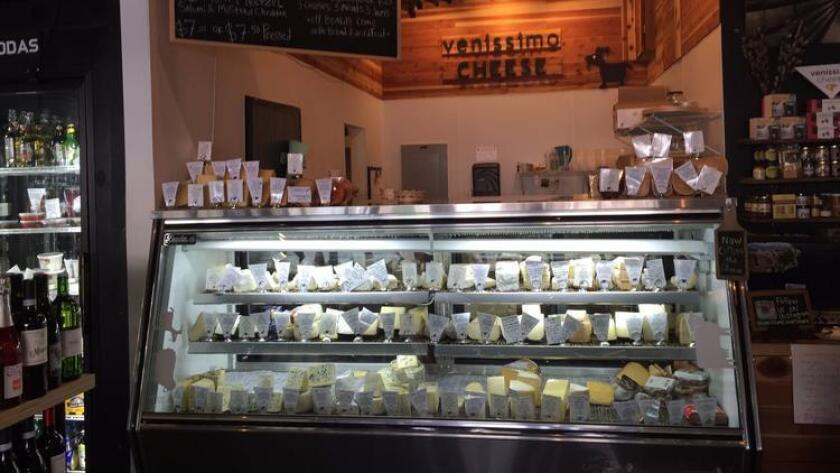 Venissimo Cheese is one of the stops that has been included on the Bite San Diego food tour in North Park. (Courtesy of Venissimo Cheese)