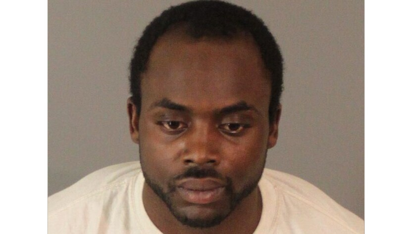 Bobby Joe Washington, 24, of Riverside is accused of stealing two mortuary vans.
