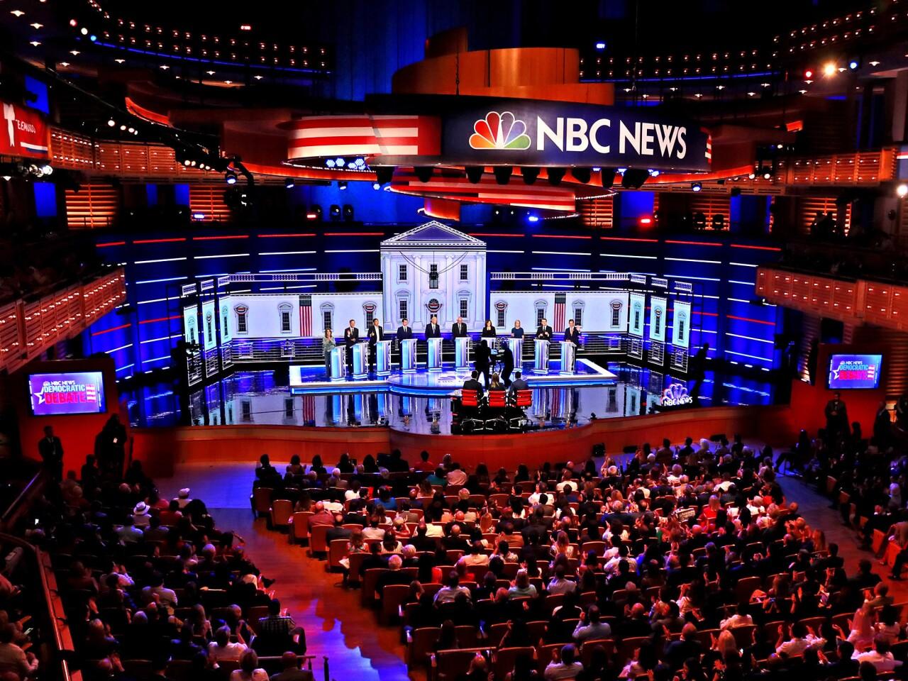 The first Democratic debate in Miami   Night 2