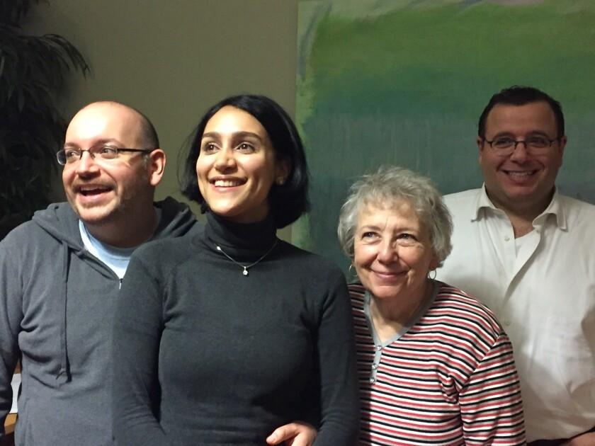 Jason Rezaian and his family