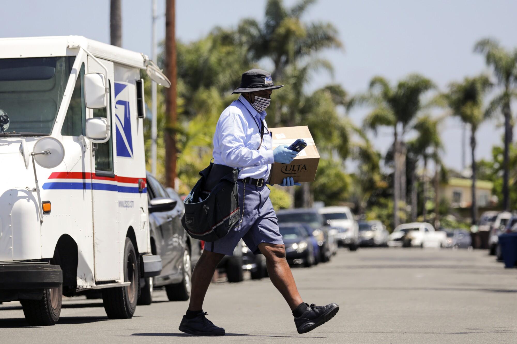 USPS Postal Service Essential Employee Mailman, Hat
