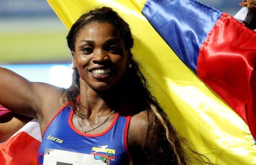 Catherine Ibarguen, atleta colombiana. EFE/Archivo