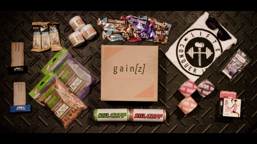 Gain[z] subscription box.