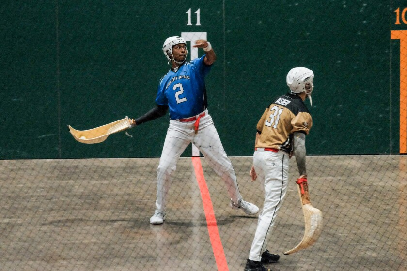Fast-paced jai alai fell out of favor but is now making a comeback. It's played at Magic City Casino in Miami.